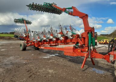Kverneland PW 100 Variomat with Packomat and ATS