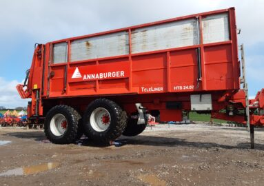 Annaburger Teleliner HTS 24D.07 with weight